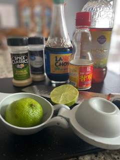 Honey Soy Tilapia Marinade Ingredients