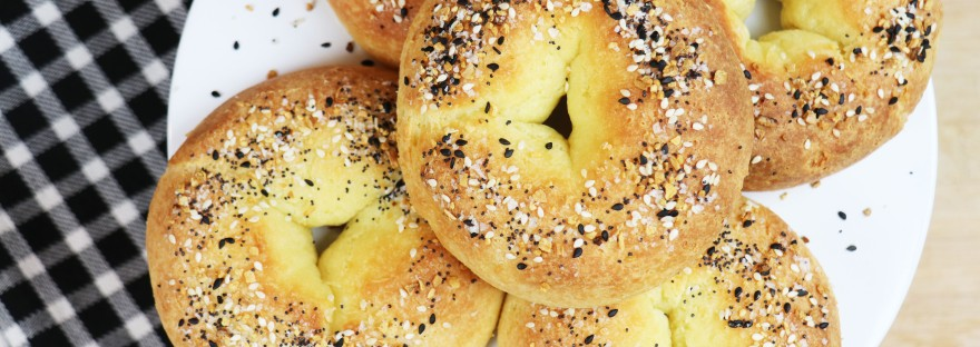 Everything Keto Bagels On A Platter